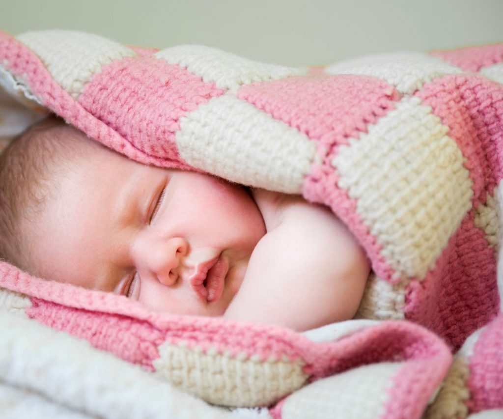 16345494 - newborn cute baby is sleeping